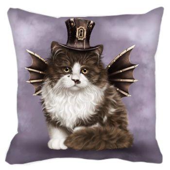 Steampunk Valentine Cushion