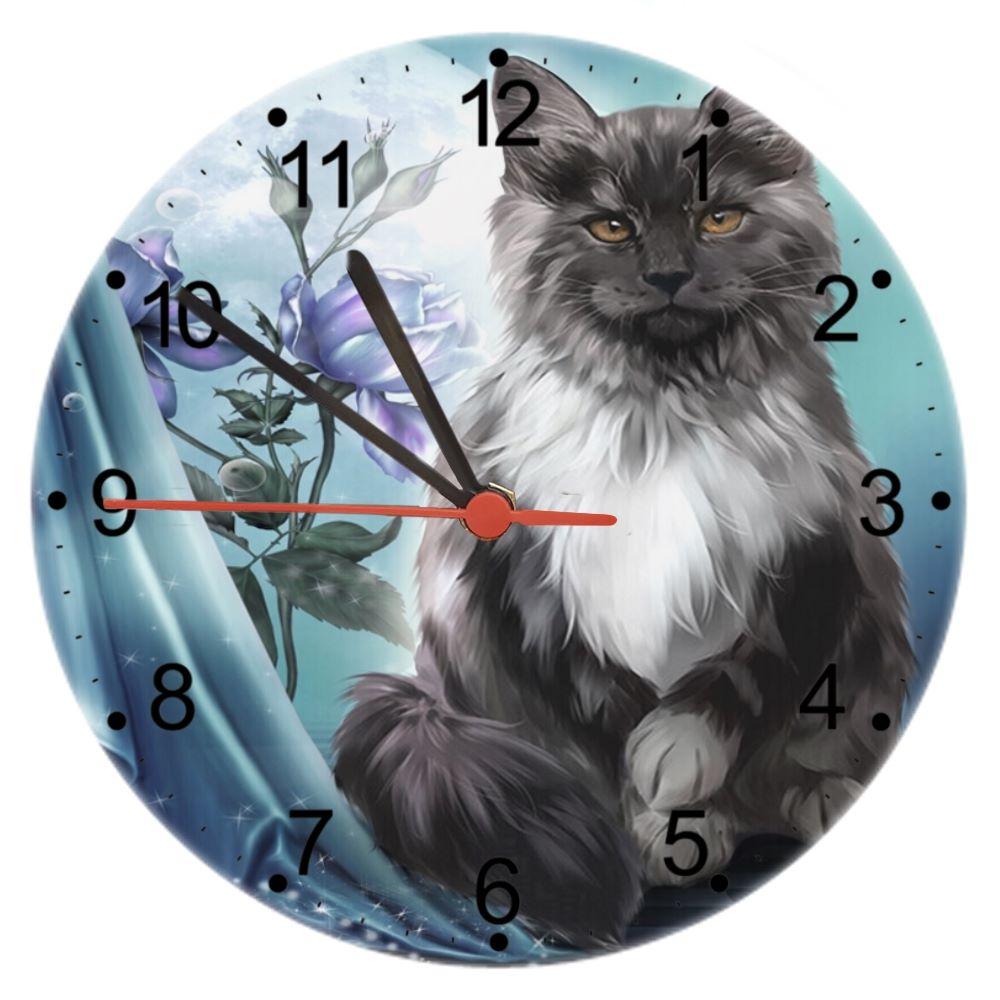 Ember - Cat Wall Clock