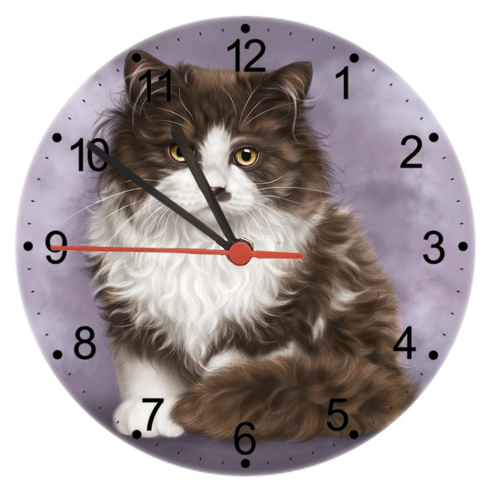 Primrose - Cat Wall Clock