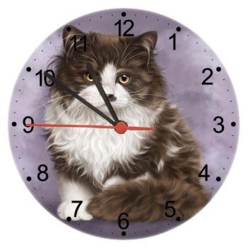 Primrose - Cat Wall Clock