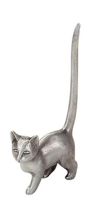 Cat Ring Holder - Tail Up