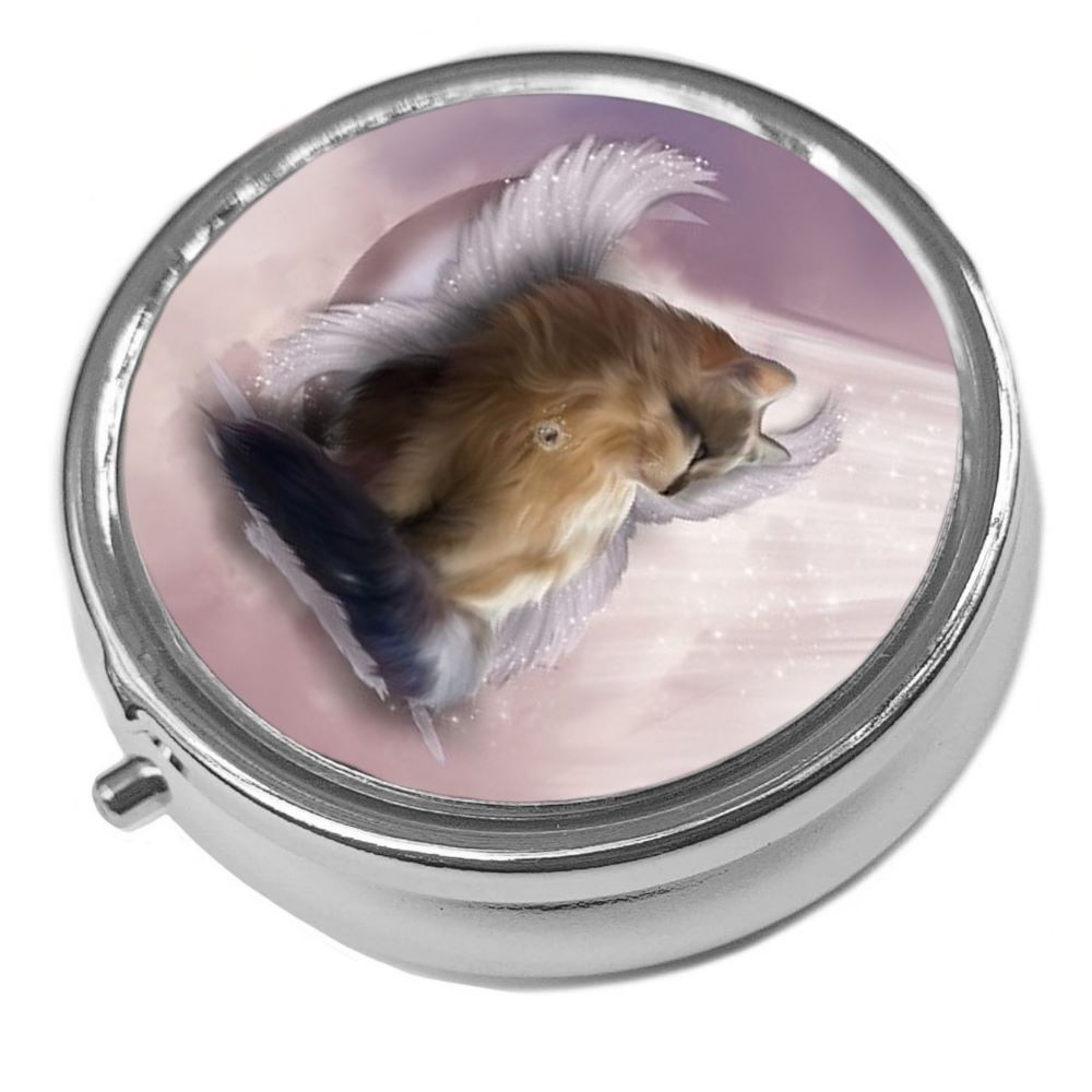 Guardian Angel Castiel - Metal Pill Box
