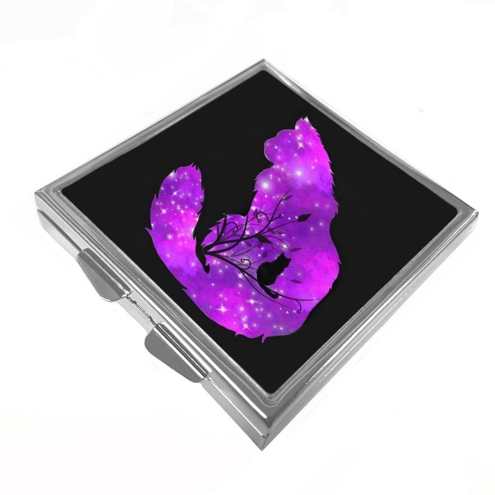 Galaxy Cats - Starlight - Pill/Trinket Box