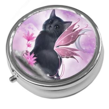 Tatiana - Silver Pill Box