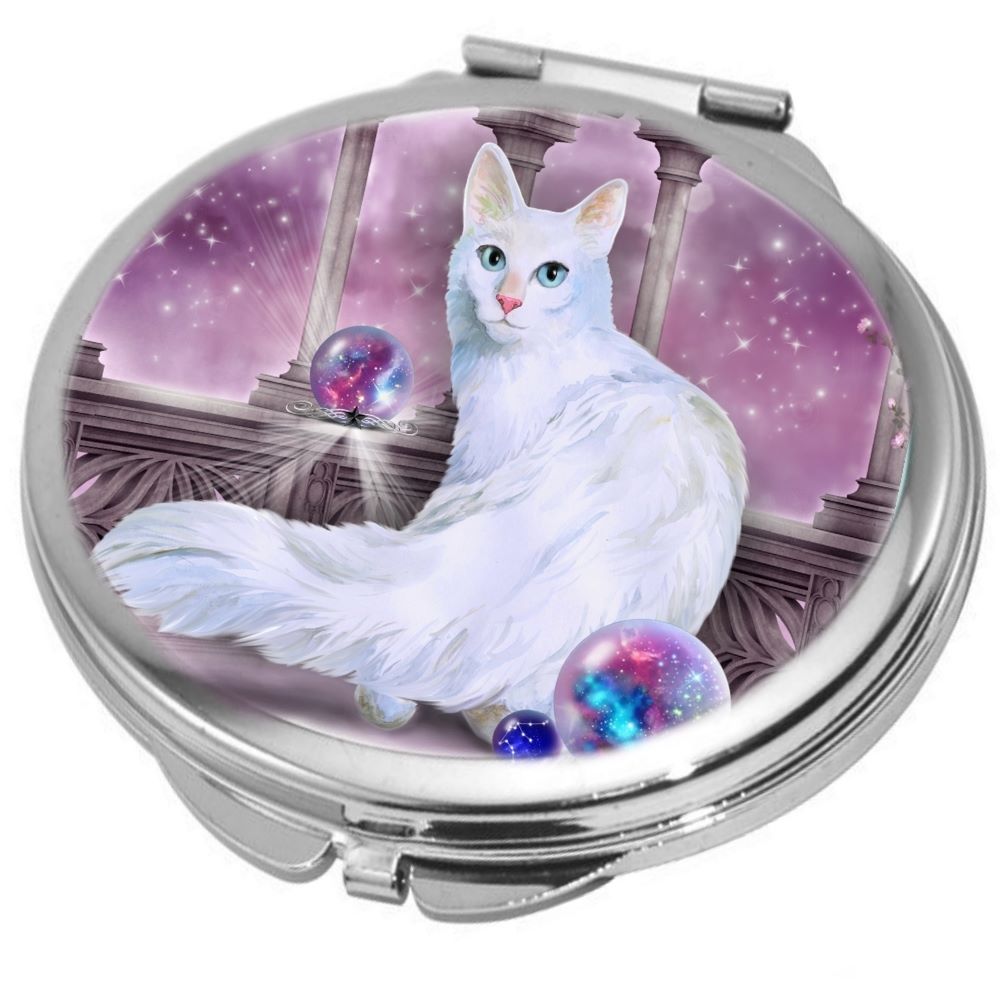 Star Keeper Cat Compact Mirror