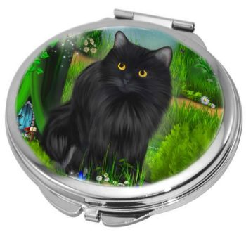 Enchanted Curiosity Compact Mirror