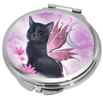 Fairy Cat (Tatiana) Compact Mirror