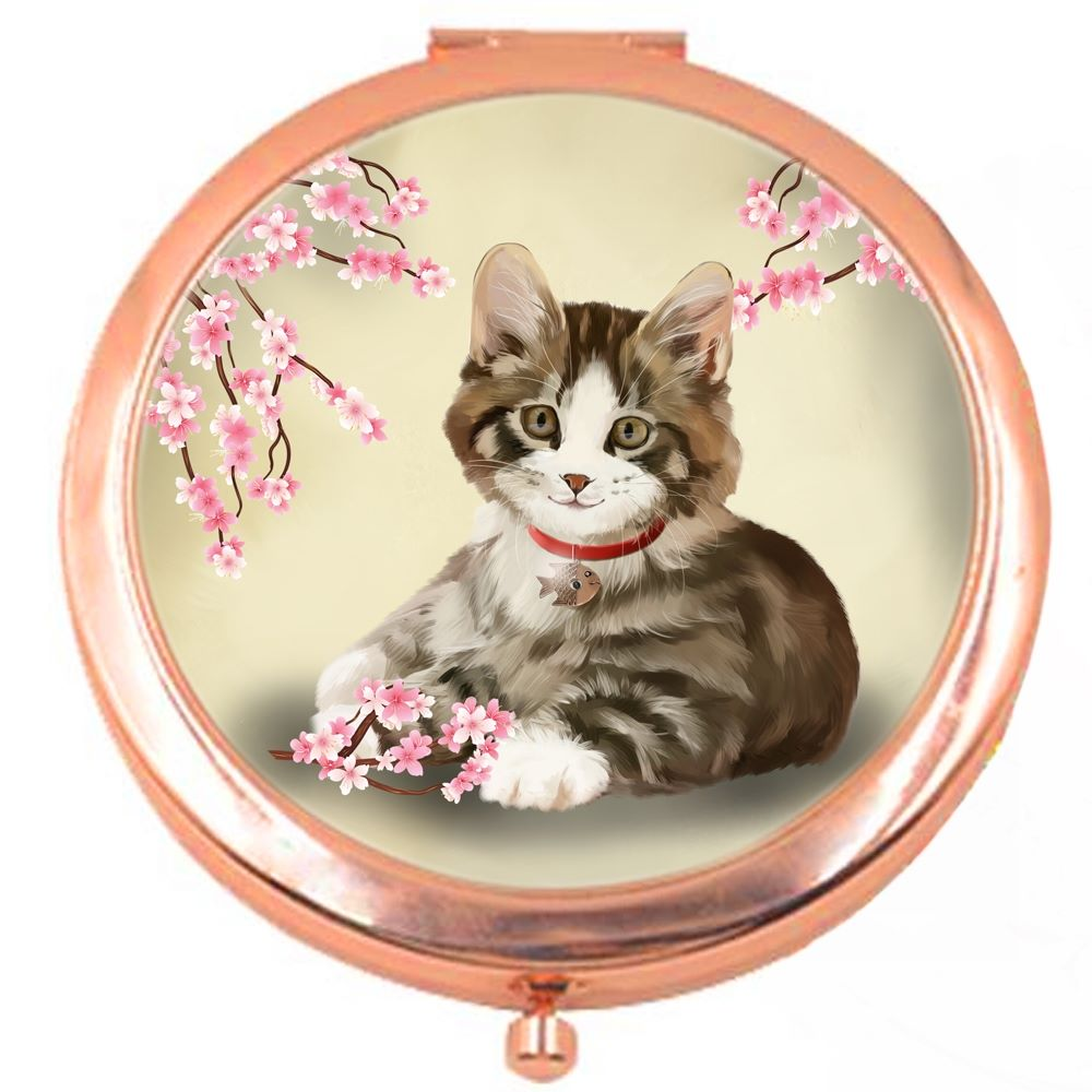 Jess Rose Colour Compact Mirror