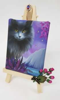 Mini Canvas & Easel - Obsidion