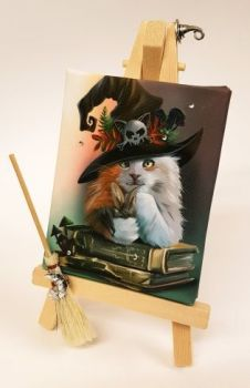 Mini Canvas & Easel - Magic