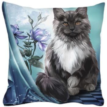 Ember Black Cat Cushion WAS £19.99
