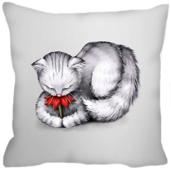 Petal Cat Cushion WAS £19.99