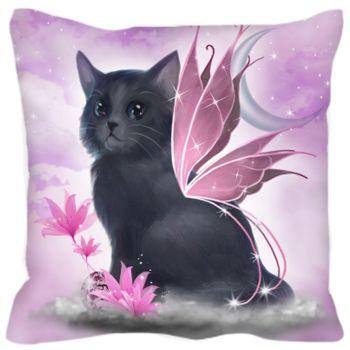 Tatiana Fairy Cat Cushion