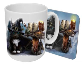 The Magician - Boxed Mug & Coaster Set