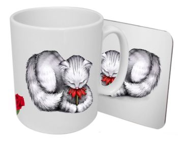 Petal - Boxed Mug & Coaster Set