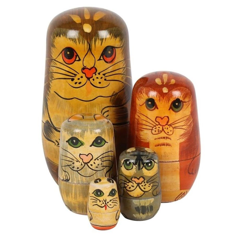 Russian Doll Cats