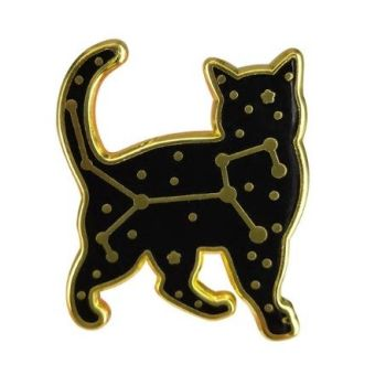 Celestial Cat Pin Badge