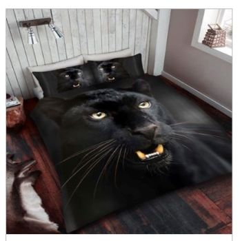 Black Panther Duvet Set - DOUBLE