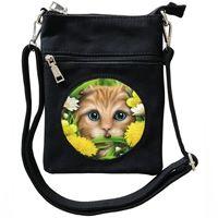 3D - Summer Cat - Small Cross Body Bag