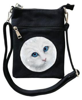 3D - Winter Cat - Small Cross Body Bag