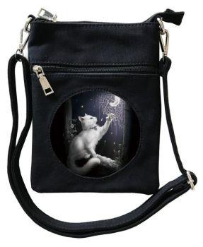 3D - Snow Kitten - Small Cross Body Bag