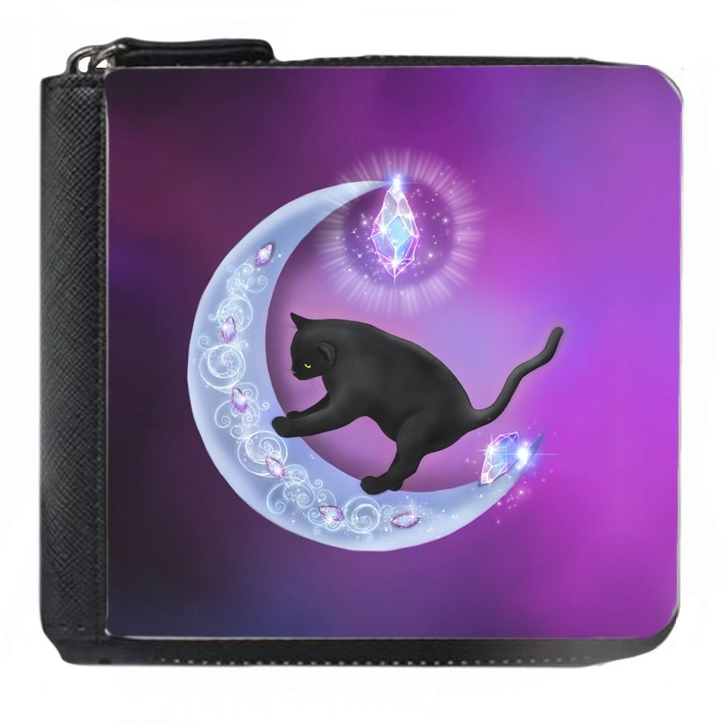 Cat & Moon - Small Purse - Boxed
