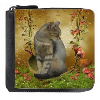 Fantasy Cat - Autumn Enchantment - Small Purse - Boxed