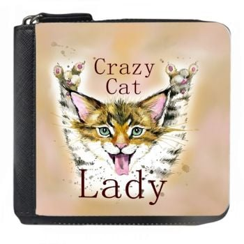 Crazy Cat Lady - Small Purse - Boxed