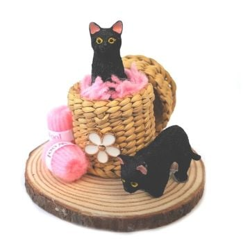 Little Cat Collectibles - The Wool Basket