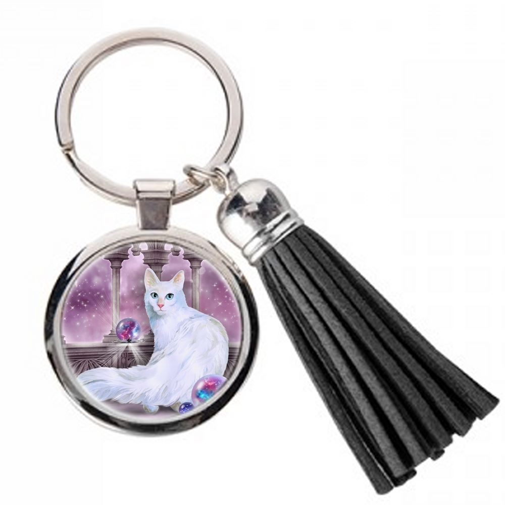 Star Keeper - Metal Keyring & Tassel