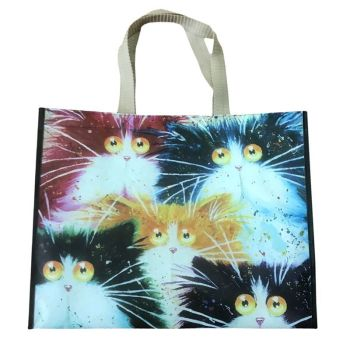 Kim Haskins Cats Shopping Bag