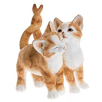 Cute Kitten Pair - Ginger & White