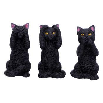 3 Wise Felines WAS £17.49