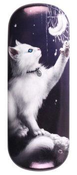 Snow Kitten Glasses Case