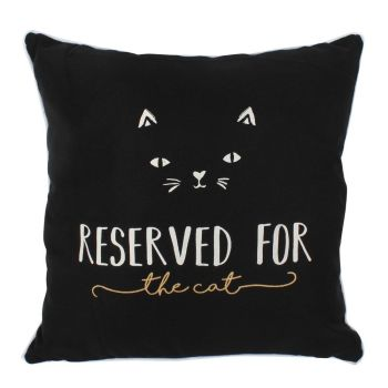 Black Cat Cushion WAS £12.99