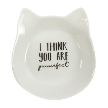 I Think You Are Puuurrfect Jewellery Dish