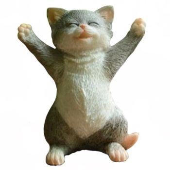 Cuddles The Cat Figurine WAS £12.49