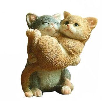 Best Buddies - Cat Figurine
