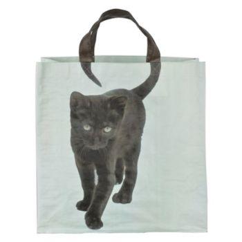 Black Cat Tail Shopper
