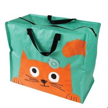 Chester The Cat Jumbo Storage Bag