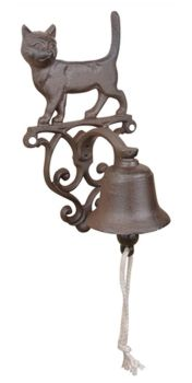 Cast Iron Cat Door Bell WAS £14.99