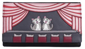 Cats the Meowsical Leather Matinee Purse