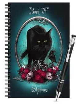 Lined Notebook & Pen Set - Book Of Shadows