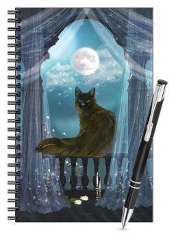 Lined Notebook & Pen Set - Eclipse
