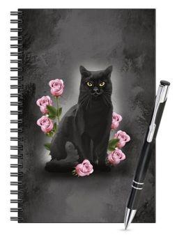 Lined Notebook & Pen Set - Ophelia