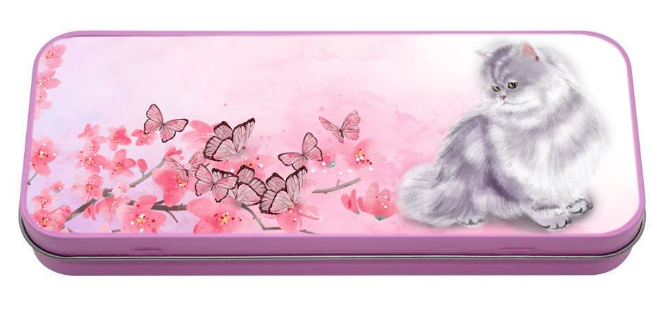 Marley In The Blossom Pencil Tin