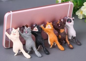 Laughing Cat Mobile Phone Holders