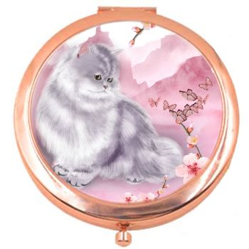 Marley & The Cherry Blossom Rose Colour Compact Mirror
