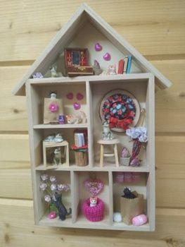 Crazy Cat House - Rosebud house