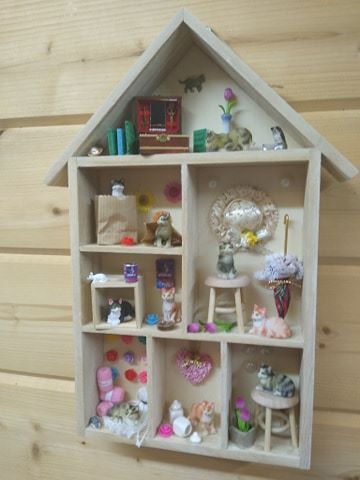 Crazy Cat House - Busy Bees House